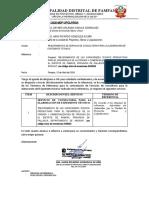 REQUERIMIENTO N° 001 MEJORAMIENTO DE CAPACIDADES TECNICO PRODUCTIVAS, TRUCHAS