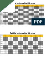 Tabla horizontal de 256 y 128 pares.pdf