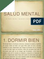 13 tips salud mental