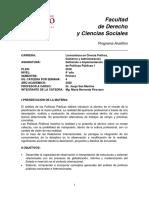0010600030DIPP1 - Definición e Implementación de Políticas Públicas I - P18 - A 20 - 01 Programa