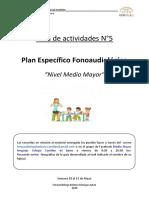Guía de actividades N°5 - NMM - Fonoaudióloga Escuela de Lenguaje.pdf