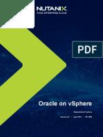 Best Practices Virtualizing Oracle Databased on Nutanix