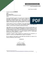 Congresista Vásquez pide información sobre procesos a Chávarry y Gálvez