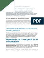 La importancia de la comunicación interna en las organizaciones