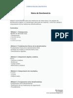 Temario - Básico de Densitometría