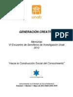 Generación creativa 2012