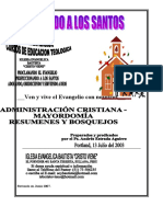 Administracion cristiana - Mayordomia