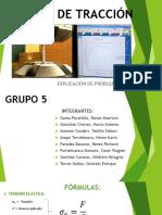 ENSAYO DE TRACCIÓN - Secc. D, Grupo 05