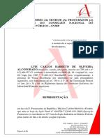 Representação ao CNMP contra procuradora Melina Castro Montoya Flores