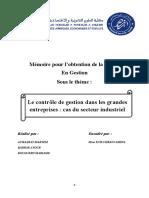 PFE le controle de gestion (Récupéré) (2222