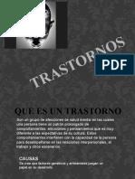PRESENTACION TRASTORNOS