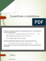 1.4 Superficies cuadráticas