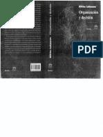 Luhmann - Orgnización y Decisión - Organisation und Entscheidung - Libro.pdf
