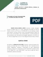 Queixa-crime Ibanes Rocha