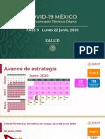 CP Salud CTD Coronavirus COVID-19, 22jun20