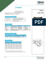 Bronze Y Type Strainer (GYS-L) V1213