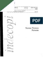 NTP 339.151-Preservación y transporte de muestras desuelos