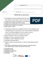 Teste  7842 - Técnicas de atendimento.doc