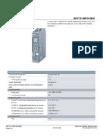 16.- Digital input 4X24 vcd 6ES71316BF000BA0