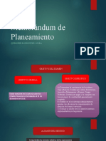 Memorándum de Planeamiento.pptx
