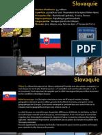 Fiche Pays Slovaquie