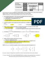Actividad matrices y determinantes