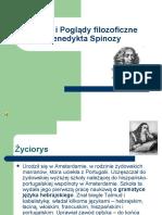 Prezentacja Spinoza