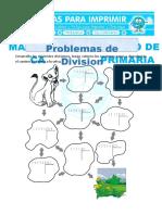 Ficha-Problemas-de-Division-para-Cuarto-de-Primaria