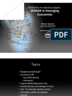 WFIC - WiMAX and Emerging Economies WS281110