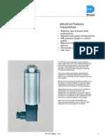 Druck PTX-500 Transmitter