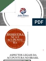 Biossegurança, Pontos e Meridianos Principais, Bibliografia  -Salvo Automaticamente- (1)