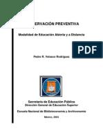 Conservación preventiva ENBA