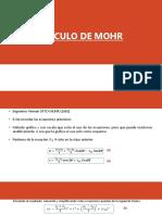 5. CIRCULO DE MOHR
