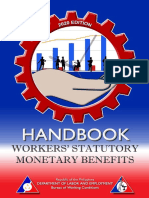 Handbook on Workers Statutory Monetary Benefits 2020 edition