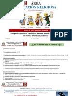 Clase N° 10 - ER - 2° de Secundaria - II Bimestre [Autoguardado]