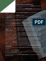 CUESTIONARIO DOCTRINA DE LA PALABRA DE DIOS