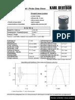 S 12 W6 - Data sheet