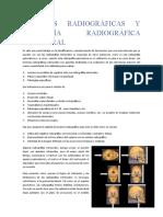 3.- Técnicas Radiográficas y Anatomía Radiográfica Extraoral