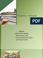 REGIMEN VOLUNTARIO