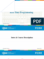 Real Time Programming Course