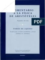 De Aquino, Tomás. Comentario a la Fisica de Aristoteles.pdf