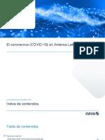 el coronavirus covid-19 en america latina