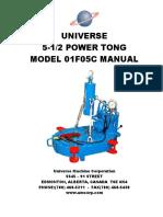 Universe-5.5-Open-Face-Power-Tong-Manual
