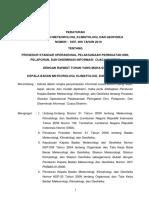PERKA Nomor 09 Tahun 2010 - Prosedur Standar Operasional Pelaksanaan Peringatan Dini, Pelaporan, dan Diseminasi Informasi Cuaca Ekstrim.pdf