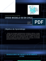Crisis modelo isi en chile