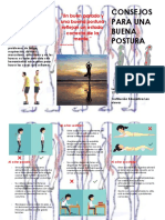 Plegable - ed. física - postura corporal