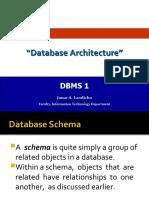 2.Database Architecture