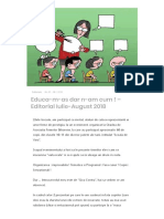 Educa-m-As Dar N-Am Cum ! – Editorial Iulie-August 2018 – AutoTehnica