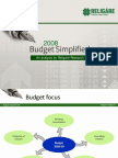 2008 - Budget Simplified