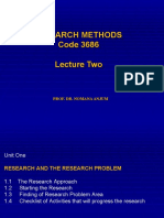 2-Research Methods 3684 Lecture Two